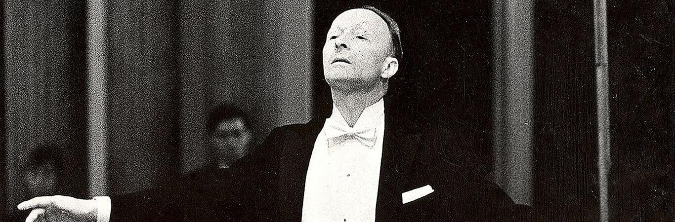 Katowice, 9.06.1967, RDM, światowe prawykonanie II Symfonii Witolda Lutosławskiego pod dyrekcją kompozytora
