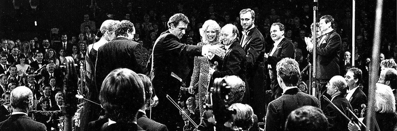 Zabrze, 5.12.1992, koncert NOSPR w Domu Muzyki i Tańca z udziałem Placido Domingo na rzecz Fundacji prof. Zbigniewa Religi