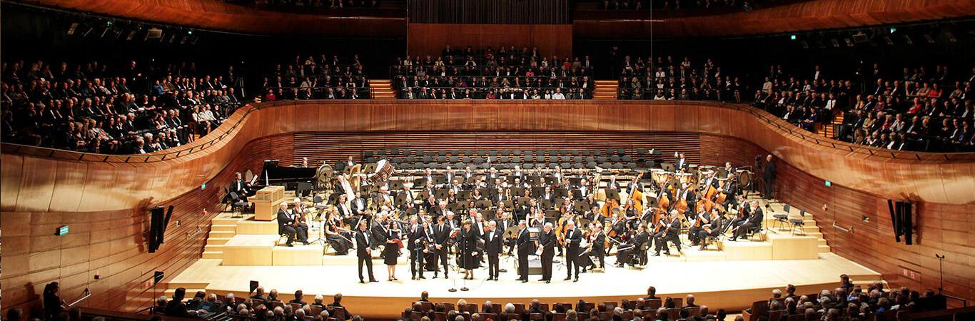 Katowice, 1.10.2014, koncert inauguracyjny w nowej siedzibie NOSPR