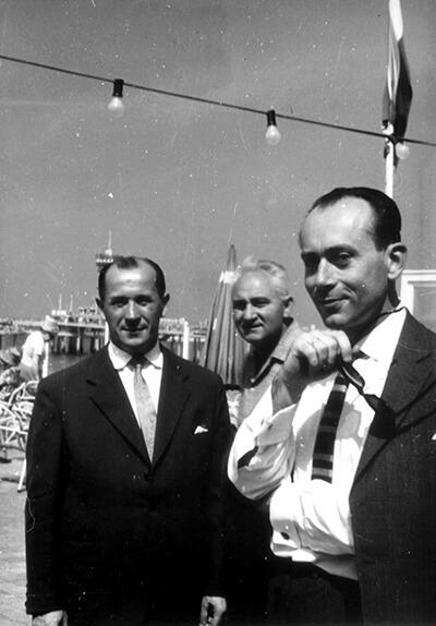 Od lewej: Tomasz Partyka (puzon), Konstanty Borzyk (wiolonczela) i Jan Krenz (dyrygent) archiwum NOSPR