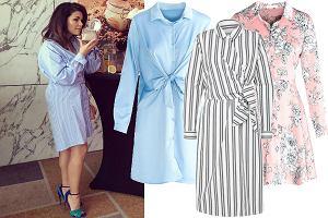 0d8d2c8bad Sukienki koszulowe w niskich cenach. Klasyczne modele w stylu Kasi Cichopek  to super wybór na lato!