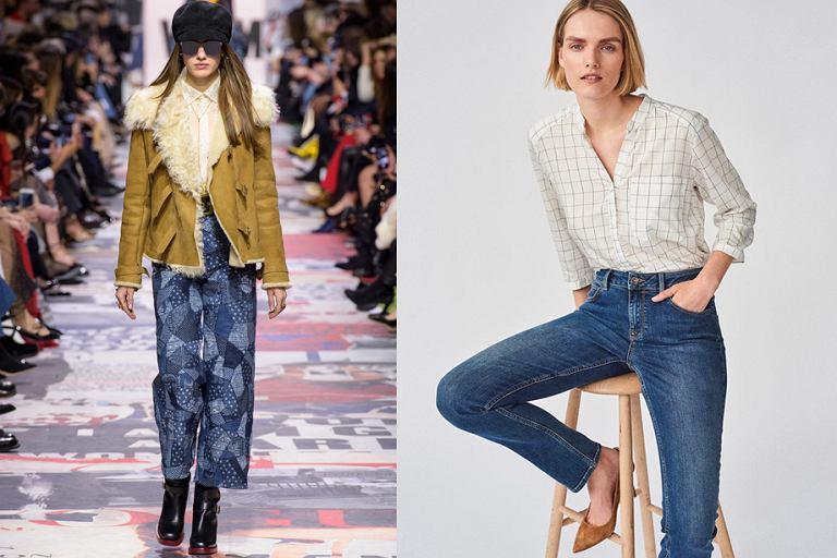 Najmodniejsze kroje jeansów damskich na sezon jesień-zima 2018. Sprawdź! d195c374e2