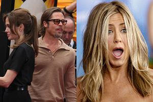 Angelina Jolie i Brad Pitt, Jennifer Aniston