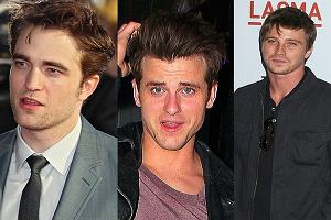 Robert Pattinson, Johnny Deep, Jsred Followill.