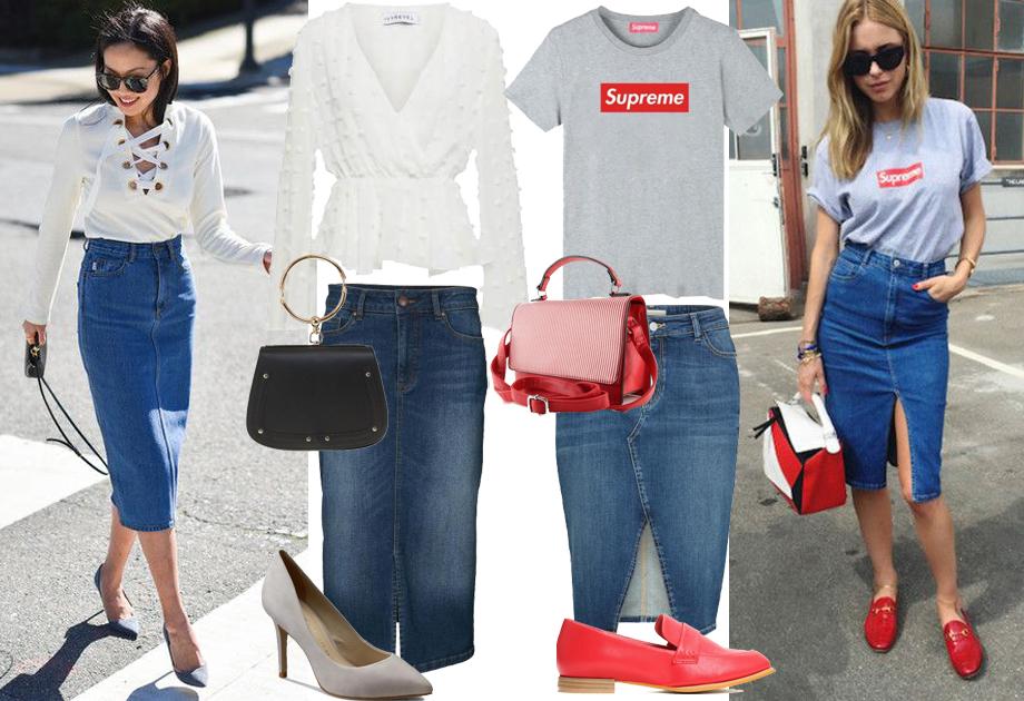 fcbcb572c1 Spódnica jeansowa - dla kogo i do czego  Najmodniejsze fasony i ...