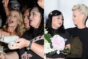 07bc307181 Magdalena Cielecka cała w złocie i Małgorzata Kożuchowska w nowej fryzurze.  Tak gwiazdy bawiły się na jubileuszu pracy Gosi Baczyńskiej