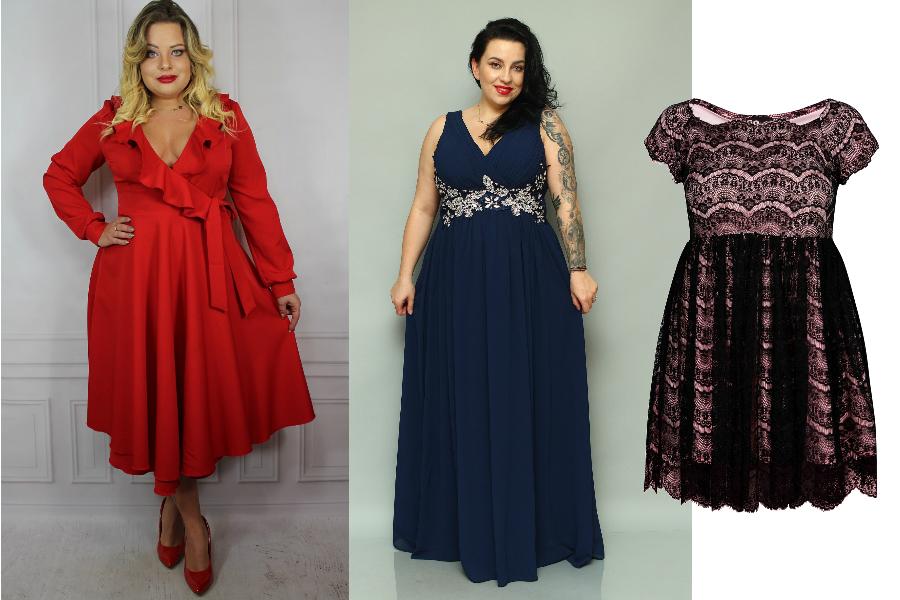 1ccaaa3923 Sukienki wieczorowe plus size to przede wszystkim kobiece koronki.   fot.  materiały partnera