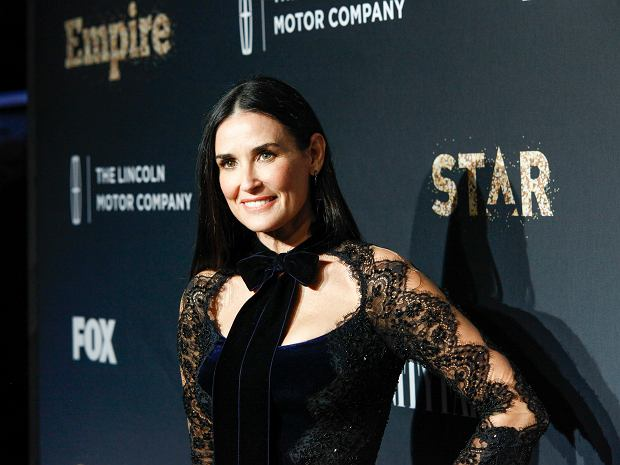 Demi Moore attends Fox