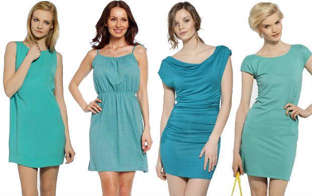 a66e979ad0 Turkusowe sukienki na lato - ponad 50 propozycji