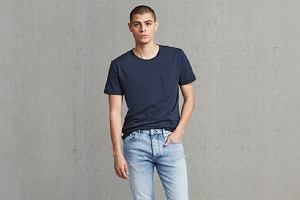 T-shirty Levi's, Wrangler i Mustang - must-have sezonu