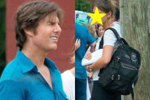 Tom  Cruise i jego asystentka Emily