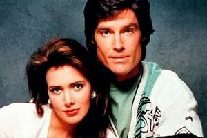 Hunter Tylo i Ronn Moss.