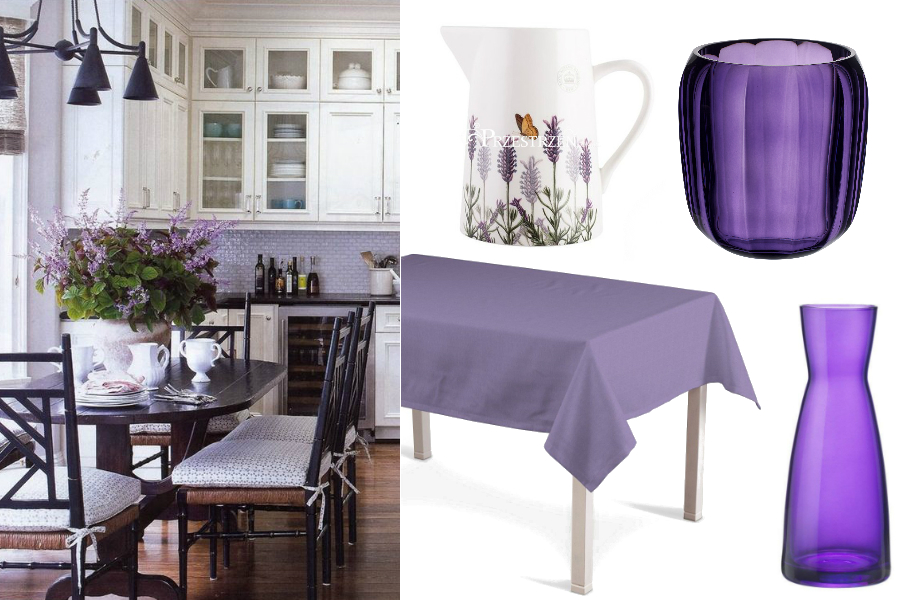 Kolor Lawendowy Najpiękniejsze Dodatki Do Kuchni I Salonu