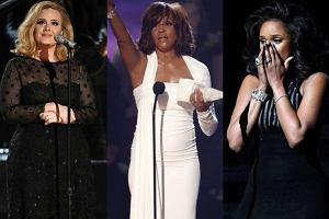 Whitney Houston, Adele, Jennifer Hudson.
