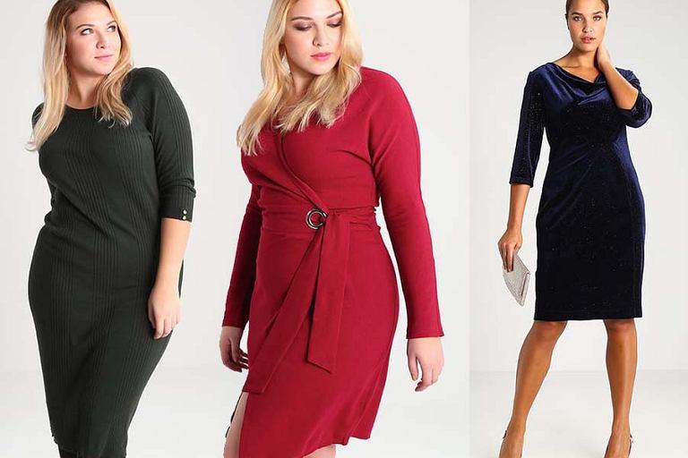 85778b55d7 Sukienki w dużych rozmiarach - propozycje na.