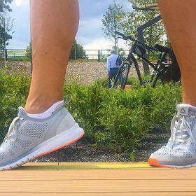 Reebok Print Smooth Ultraknit  test butów do biegania  e5a16c37dac