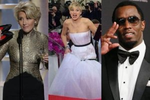 Diddy, Jennifer Lawrence i Emma Thompson