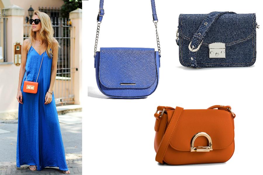 340944ac41 Jakie dodatki do niebieskiej sukienki  Stylowe modele i pasujące do ...