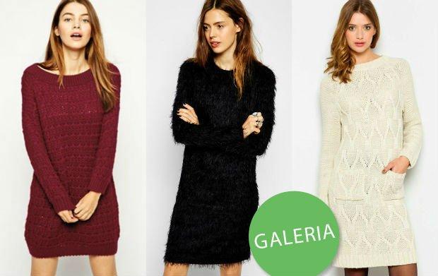 cde3bf9551 Swetrowe sukienki na jesień i zimę - ponad 50 propozycji