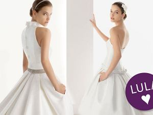 55ae2f19d5 Suknie ślubne z kieszeniami - przegląd