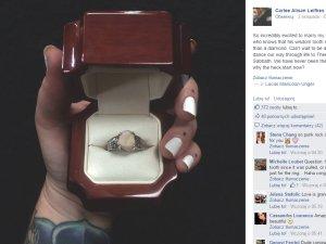Pierścionek Zaręczynowy Pierścionek Zaręczynowy Kobieta