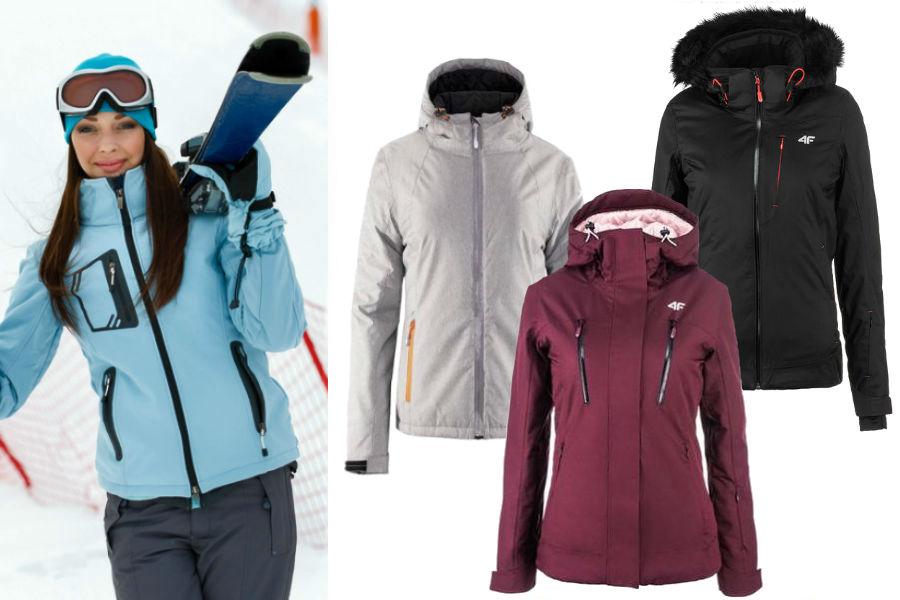 58df6448a85778 Czas na narty! Spodnie, kurtki i dodatki narciarskie w promocyjnych ...