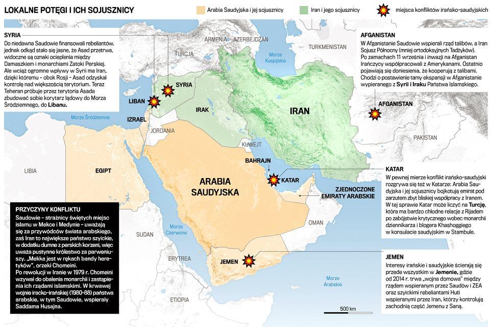 Iran Kontra Arabia Saudyjska Przed Szczytem Bliskowschodnim