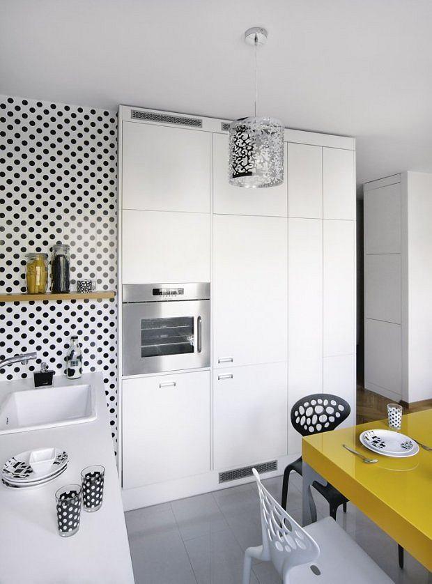 Mała Kuchnia W Bloku Pełna Dobrych Rozwiązań 12
