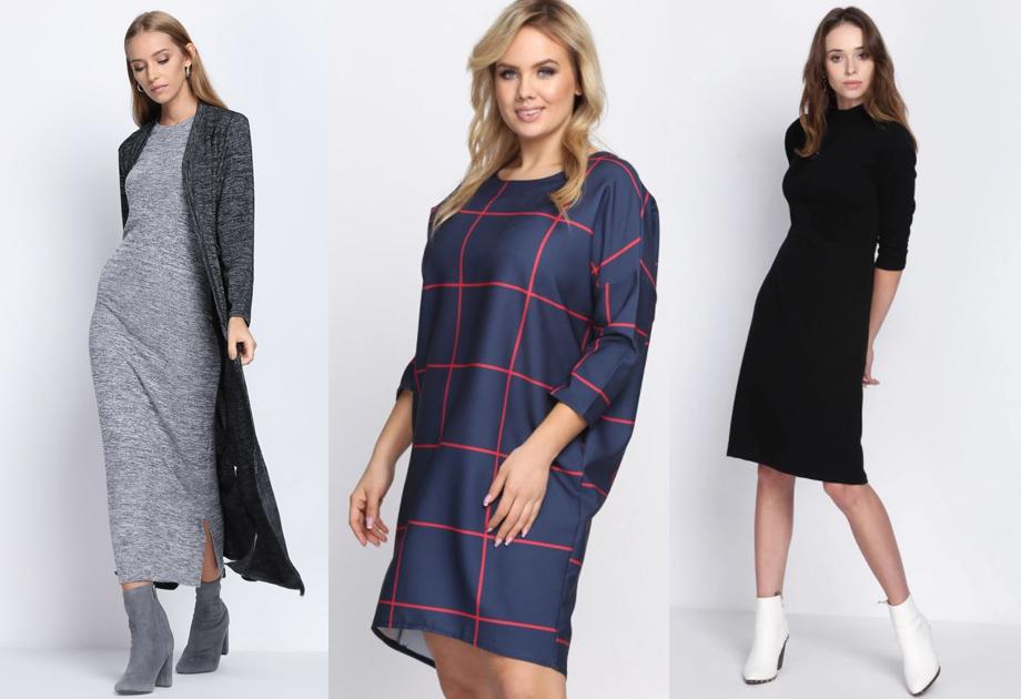 5e73b27382 Wygodne sukienki na jesień - te fasony są modne i niedrogie!