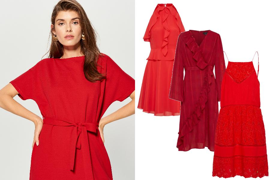 14a77eef3971d Ultrakobiece czerwone sukienki! Wybieramy najpiękniejsze fasony i ...