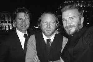 Tom Cruise, Guy Ritchie, David Beckham