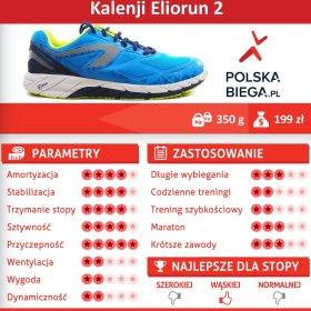 0151bde7 Kalenji Eliorun 2 - tak dla. Buty marki Kalenji zawsze przyciągały uwagę  biegaczy ...