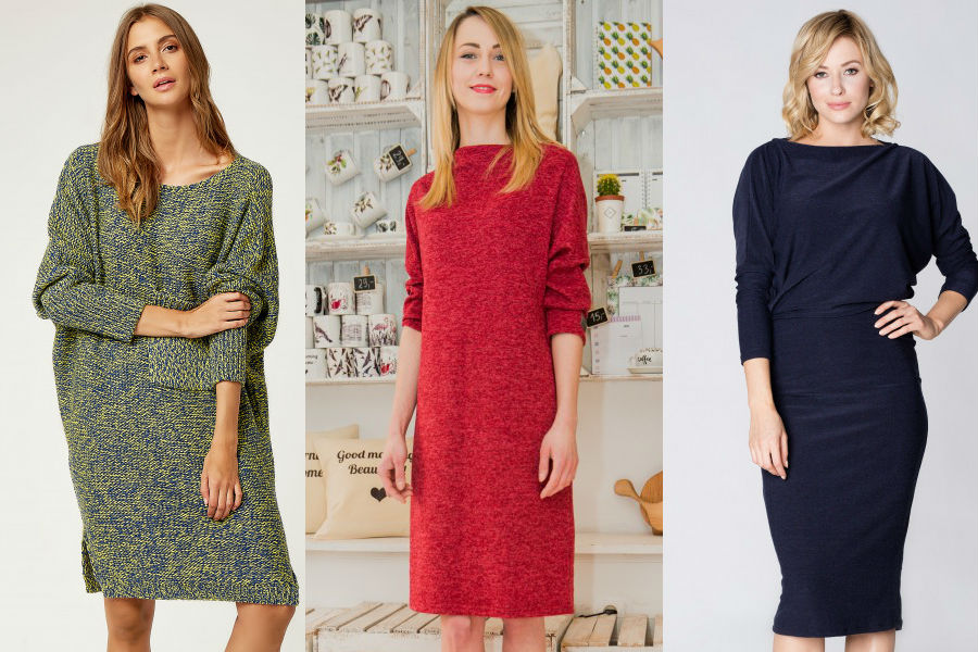 c0be7a0ab4 Ciepłe sukienki na zimę  sukienki swetrowe oraz dzianinowe