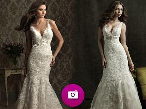90dbae888f Suknie ślubne Allure - kolekcja jesień 2012