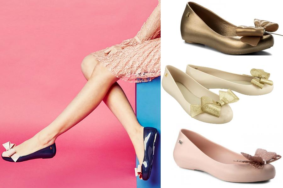 6ca55006fd Wygodne buty Melissa - GUMOWE BALERINY NA WESELE. gumowe baleriny Melissa