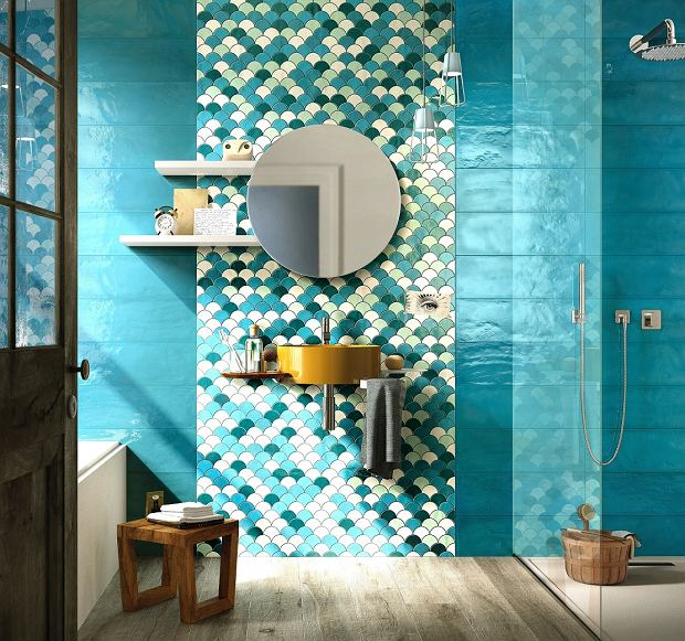 Płytki łazienkowe Trendy W Aranżacji łazienek Płytki