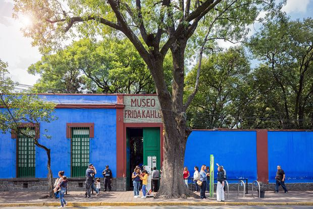 Muzeum Fridy Kahlo w Coyoacan