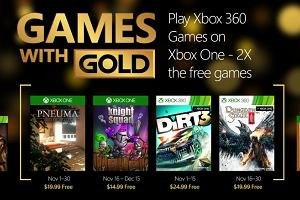 Games with Gold: darmowe gry na listopad 2015
