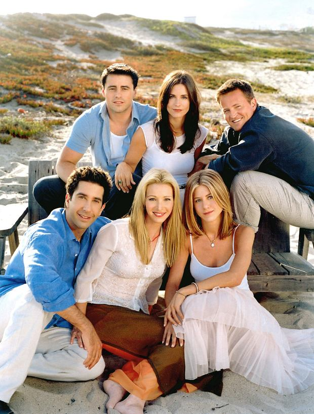 FRIENDS, Matt LeBlanc, Courteney Cox (aka Courteney Cox Arquette), Matthew Perry, David Schwimmer, Lisa Kudrow, Jennifer Aniston, 2002-03 season, series running 1994-present, yr9