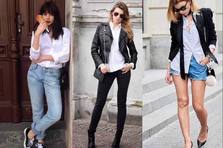 06da30c4bc186 Jak nosić białą koszulę? Zainspiruj się znanymi blogerkami
