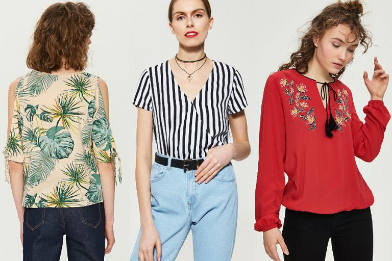 8451d02370e1 Bluzki damskie kolekcja wiosna lato 2019 - avanti24.pl