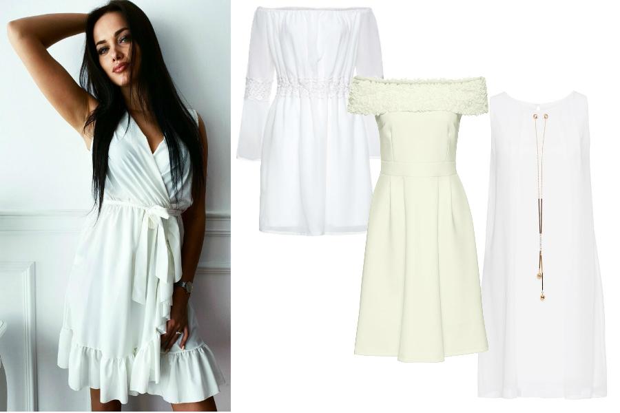 70840f7194 Białe sukienki na lato. Najpiękniejsze fasony
