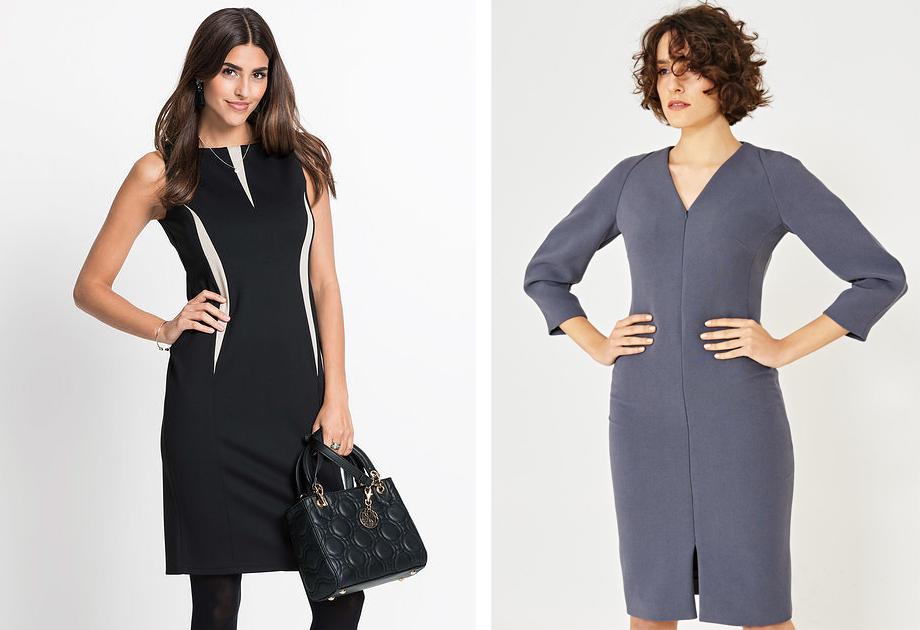 d3a1b1b34b Eleganckie sukienki do pracy w atrakcyjnych cenach