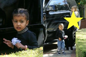 North West, Kourtney Kardashian, Penelope Disick
