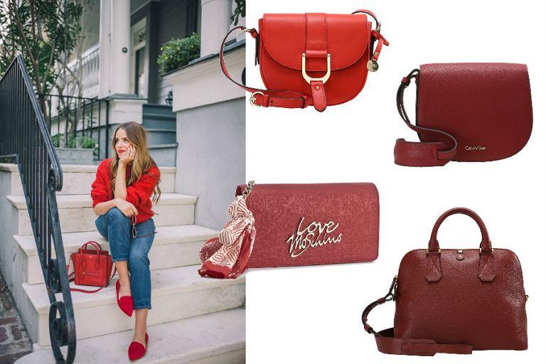 dd217b6a06f17 Czerwone torebki - intensywny dodatek do każdej stylizacji