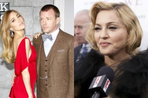 Jacqui Ainsley i Guy Ritchie, Madonna