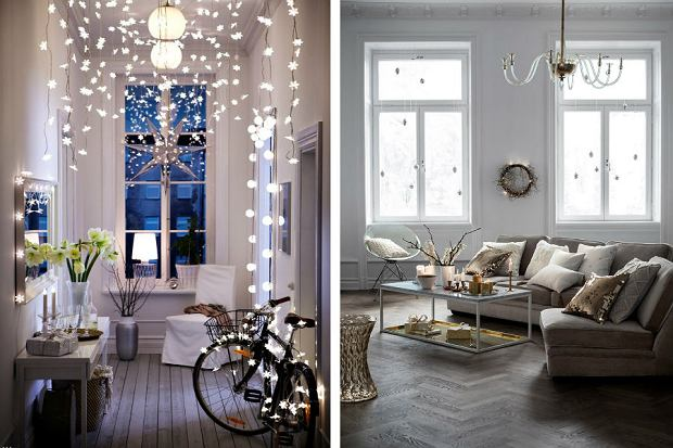 Oświetlenie świąteczne Domu Jak Oświetlić Mieszkanie Na