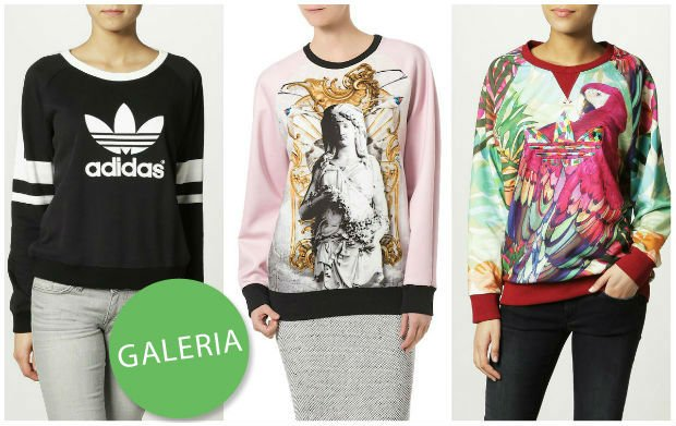 9a90f732b5dca Zakupy w sieci  sportowe bluzy z Zalando