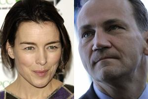 Radosław Sikorski, Olivia Williams.