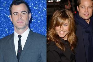 Justin Theroux, Jennifer Aniston, Brad Pitt